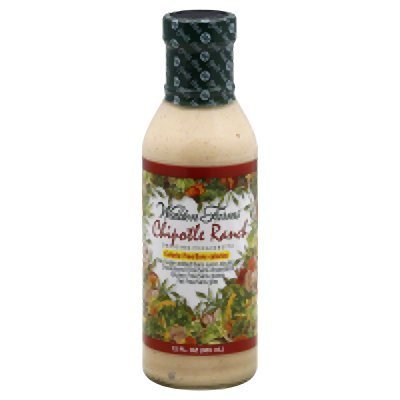 Walden Farms Calorie Free Dressing Chipotle Ranch (Pack of 2, 12.0 FL OZ each bottle)