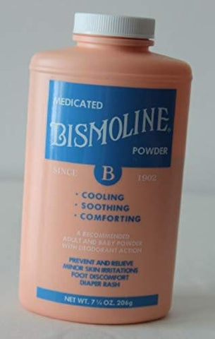Body Powder Bismoline - Item Number 01270EA - 1 Each / Each
