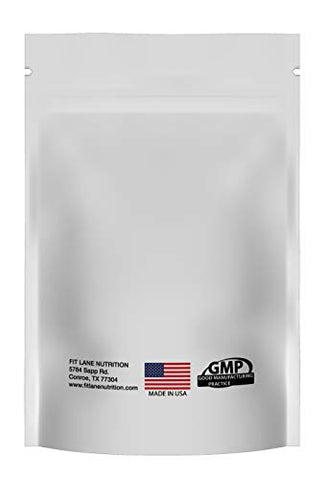 L-Citrulline Malate 2:1 Powder, Bulk Free Form Amino Acid Supplement. Raw and Pure with no Additives by Fit Lane Nutrition. 301 Gram Bag.