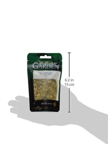 Brewer's Garden Dried Licorice Root - 1oz.