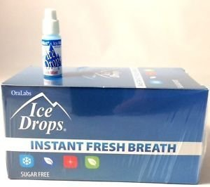 Oralabs Ice Drops Instant Fresh Breath Winter Mint Whole Box of 50 by OraLabs