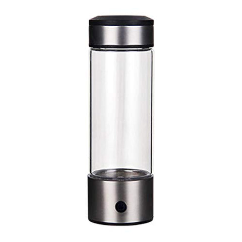 LOVEPET High Concentration Hydrogen-Rich Water Cup SPE Ion Membrane Alkaline Water Purifier Micro-Electrolysis Water Glass 320ml