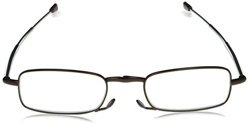 Foster GrantGideon Brown 1017237-150.COM Rectangular Readers, Brown, 1.5
