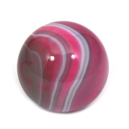 CrystalAge Banded Agate Sphere ~Pink - SAGP Small