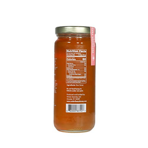 New York Wildflower Raw Honey 16.5 oz