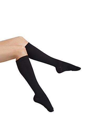MAXAR Unisex Air Flight Travel Dress Compression Support Socks for Men and Women, Nurses, Blood Circulation Stockings - Prevents Swelling, Pain, Tiredness, Edema,  12-15 mmHg,  H-170 X-Large Beige
