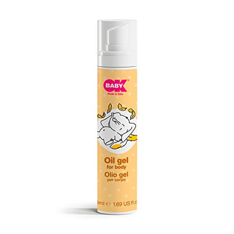 OKBABY Oil Gel for Body for Babies - 50 ml