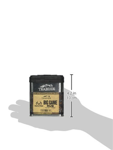 Traeger Grills SPC180 Real Tree Big Game Dry Rub, Original Version