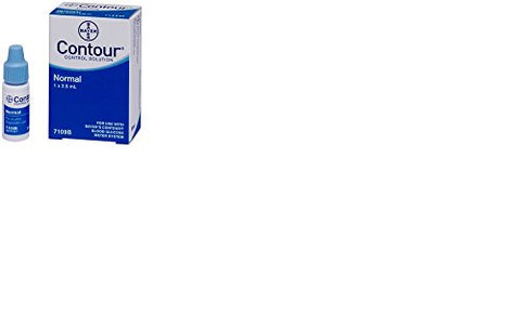 Bayer's Contour Normal Control Solution - Each 1