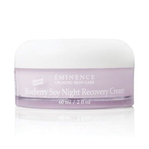 EMINENCE Blueberry Soy Night Recovery Cream 2 oz / 60 ml New Fresh Product
