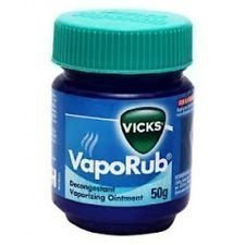 Vicks 1 X 50g Vaporub Relief from Headache,Cough,Cold,flu,Blocked Nose by Vicks