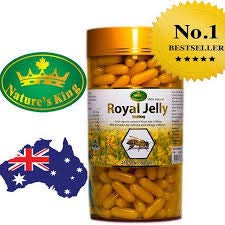 Natures King Royal Jelly 1000 Mg. 365 tablets