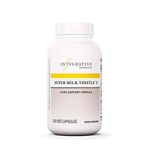 Integrative Therapeutics   Super Milk Thistle X   Liver Support Formula   Blended W/ Artichoke, Dand
