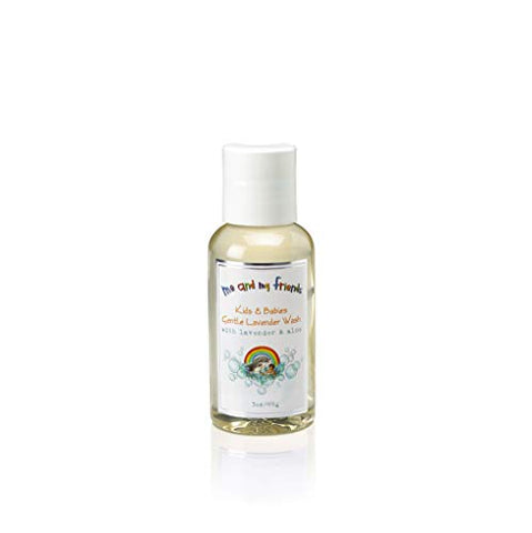 N Nabila K Me and My Friends Kids & Babies Gentle Lavender Wash, With Lavender and Aloe, Travel Size, 3 ounces