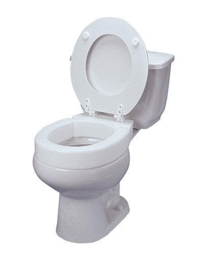 Maddak SP Ableware Hinged Elevated Toilet Seat, Elongated
