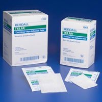 "1050 Dressing Telfa Wound LF Sterile Gauze 3x4"" White Non-Adh 50 Per Box Part No. 1050 by- Kendall Company"
