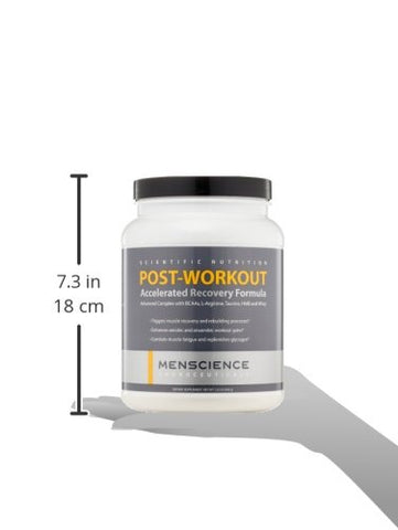 MenScience Post-Workout Accelerated Muscle Recover Formula, 1.23 lb.