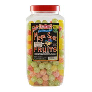 Barnetts Mega Sour Fruits 250g