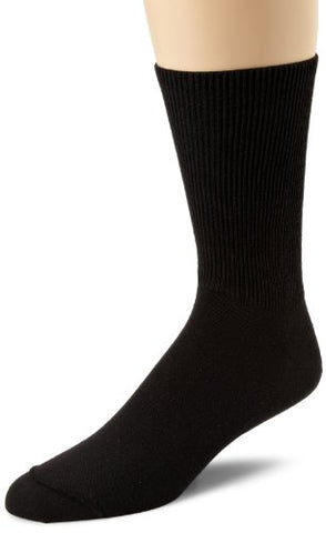 Wigwam Diabetic Walker F1221 Sock, Black - Large