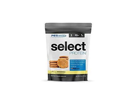 PEScience Select Low Carb Protein Powder, Snickerdoodle, 5 Serving, Keto Friendly and Gluten Free