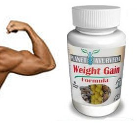 (60 Tablets) Planet Ayurveda Weight Gain Formula (GAIN MASS MEN) Gain weight men - Gain True Mass Easily!