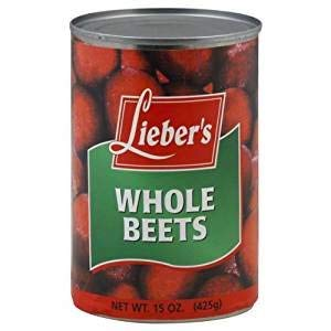 Lieber's Whole Beets Kosher For Passover 15 Oz. Pack Of 3.