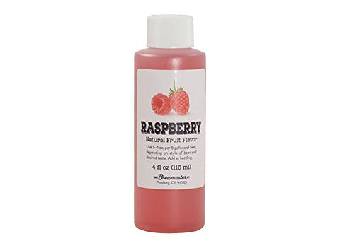 Fruit Flavorings - Raspberry (4 oz) (Pack of 30)