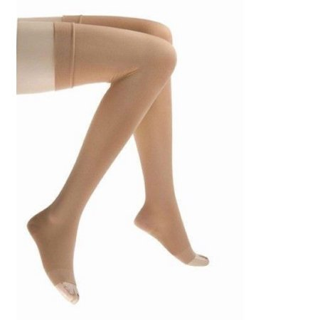Relief Therapeutic Support Unisex Thigh High Stockings, 20 - 30...