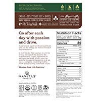 Navitas Organics Superfood Power Snacks, Chocolate Cacao, 8 oz. Bag, 11 Servings  Organic, Non-GMO, Gluten-Free