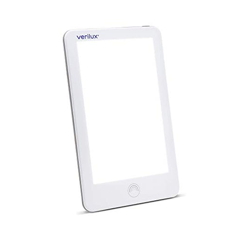 Verilux HappyLight VT31 Lumi 10,000 Lux LED Bright White Light Therapy Lamp with Adjustable Brightness, 31 sq. in. Lens Size