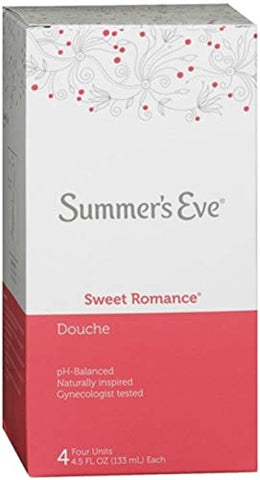 Summer's Eve Douche Sweet Romance 4 Each (Pack of 2)