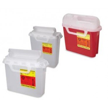 BD 305550 Wallmate Sharps Container, Shape, ()