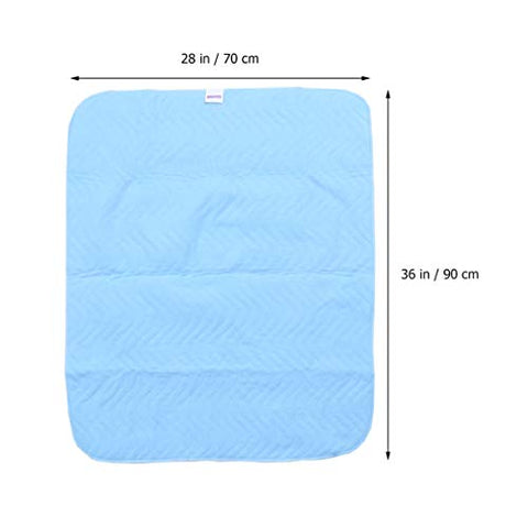 EXCEART Underpads Bed Pads Washable Mattress Protector Pads Patient Accessories Pee Absorbing Mat for Patient Hospital Adults