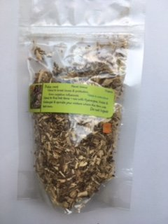 Herbs: Poke Root ~ 1 oz Dried root ~ Hex Breaking ~ Wicca ~ Ravenz Roost Herbs with Special Info on Label
