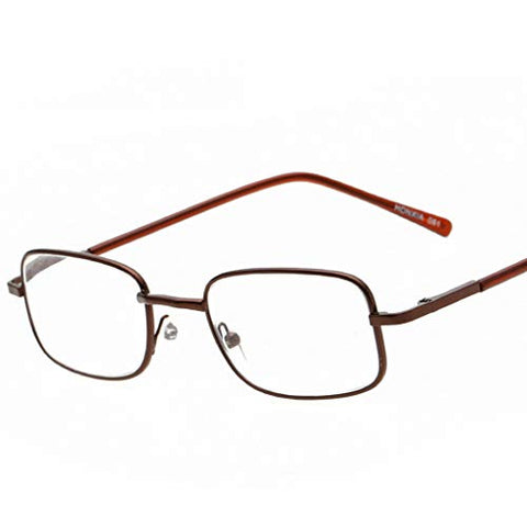 QQAA Black Reading Glasses Men and Women Have A Stylish Look and Crystal Clear Vision When You Need It! Comfort Spring Arms Screws
