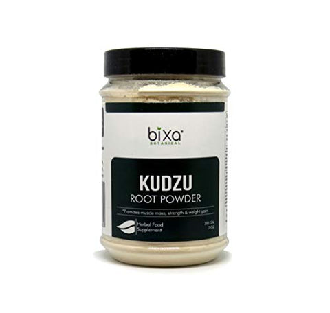 Indian Kudzu Root Powder (Pueraria tuberosa/Vidarikand), Promotes Muscle Mass, Strength & Weight gain by Bixa Botanical - 7 Oz (200g)
