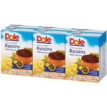 Raisin Seedless, 1.5 Ounce -- 144 per Case
