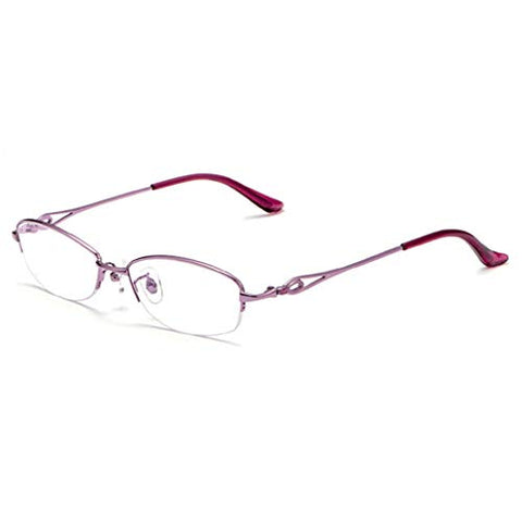 QQAA Progressive Reading Glasses Women:Multi-Focus Intelligent Zoom,Transparent Lens,Reduce Headaches Eye Strain,Suitable for Work/Reading/Watching The Scenery