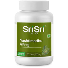 Sri Sri Ayurveda Yashtimadhu - 60 Tablets | 500 mg (Pack of 2)
