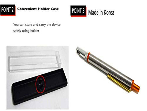 Made in Korea Hane Open-Headed Stainless LAN-CING Pen Device (Device 1pc)
