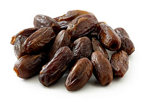 NUTS U.S.  California Dried Pitted Dates | No Added Sugar and No Artificial Flavors | Chewy Texture | Non GMO | Whole Pitted Dates In Resealable Bags!!! (5 LBS)
