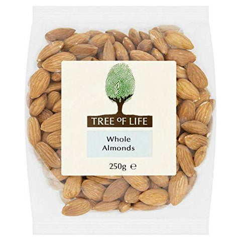 Tree of Life Whole Almonds - 250g (0.55 lbs)