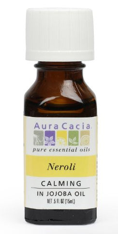 Aura Cacia Essential Oil, Calming Neroli, 0.5 fluid ounce (Pack of 2)