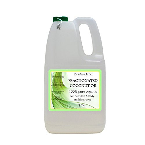 Organic Pure Fractionated Coconut Oil You Pick Size (1 Gallon)