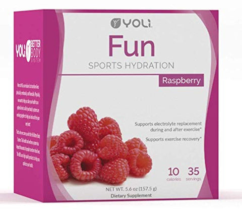 Yoli Fun Sports Hydration - Box - Raspberry