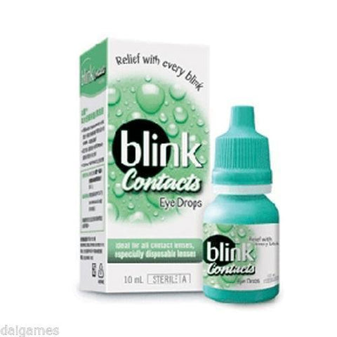 M# Blink Contacts Lubricating Eye Drop 10ml Relief with Every blink