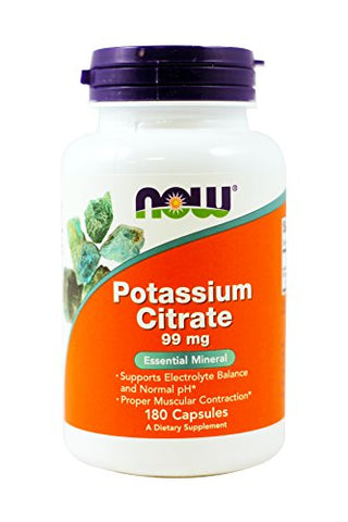 NOW - Potassium Citrate 99 mg 180 Capsules