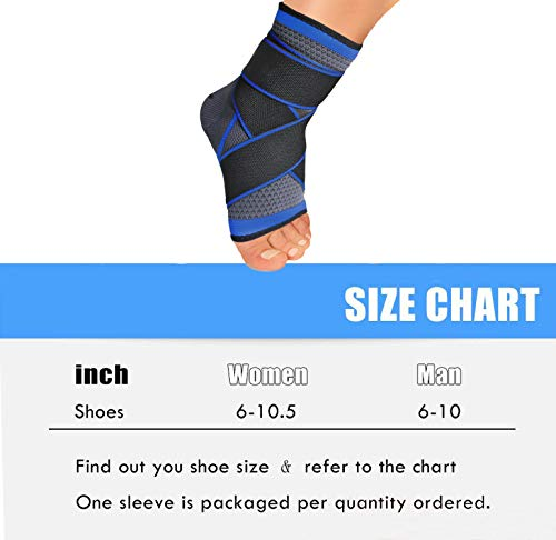 Plantar Fasciitis Compression Sock (1 Pair), Sport Ankle Brace & Achilles Tendon Sleeve with Arch Support &,Foot Care for Eases Swelling,Pain Relief Heel Spurs