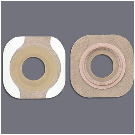 Colostomy Barrier Pre-Cut, Extended Wear Tape 1-3/4 Inch, Opening Size 1-1/8 Inch Stoma