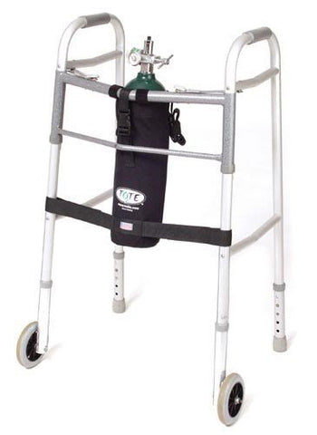 TOTE Oxygen Tank Carrier fits E-Cylinder for Wheeled Walker